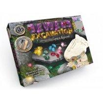 Набор для проведення розкопок JEWELS EXCAVATION на украинском языке: камні KMJEX-01-02
