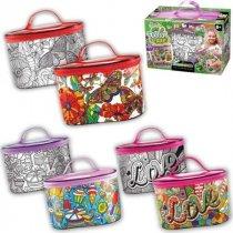 My Color Case косметичка-розмальовка Набор креативного творчества тм Danko Toys KMCOC-01-01,02,04,05,06
