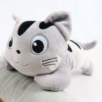 Мягкая игрушка полосатый Котик Лунита 30 см