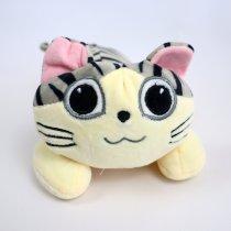 Мягкая игрушка полосатый Котик Лунита 20 см
