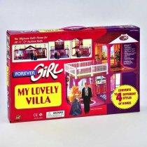Игрушка Домик для кукол Барби в коробке