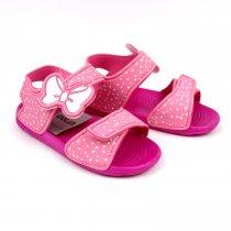 Сандалии пляжные для девочки Бантик розовые тм GIOLAN