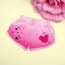 Детские шорты для девочки на резинке Минни розовые тм Seagull
