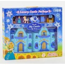 Игрушка Замок Frozen  музыкальный, со светом, в коробке