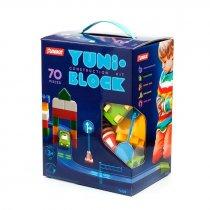 """Конструктор дитячий """"YUNI-BLOK"""" 70 (коробка) 48200416 KM71429"""
