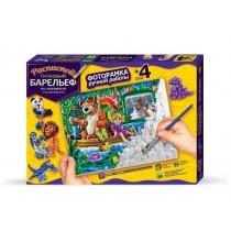 Набор для творчества Барельеф тм Danko Toys KM44175